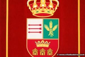 Escudo-Tapiz del Ayuntamiento de Villalba del Rey
